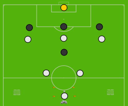 Combination Play - Positional Play Discovery Game